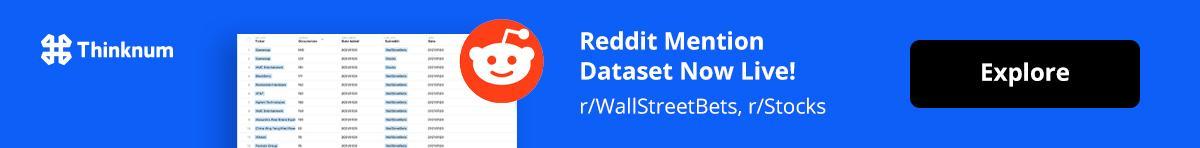 Reddit Mension Dataset
