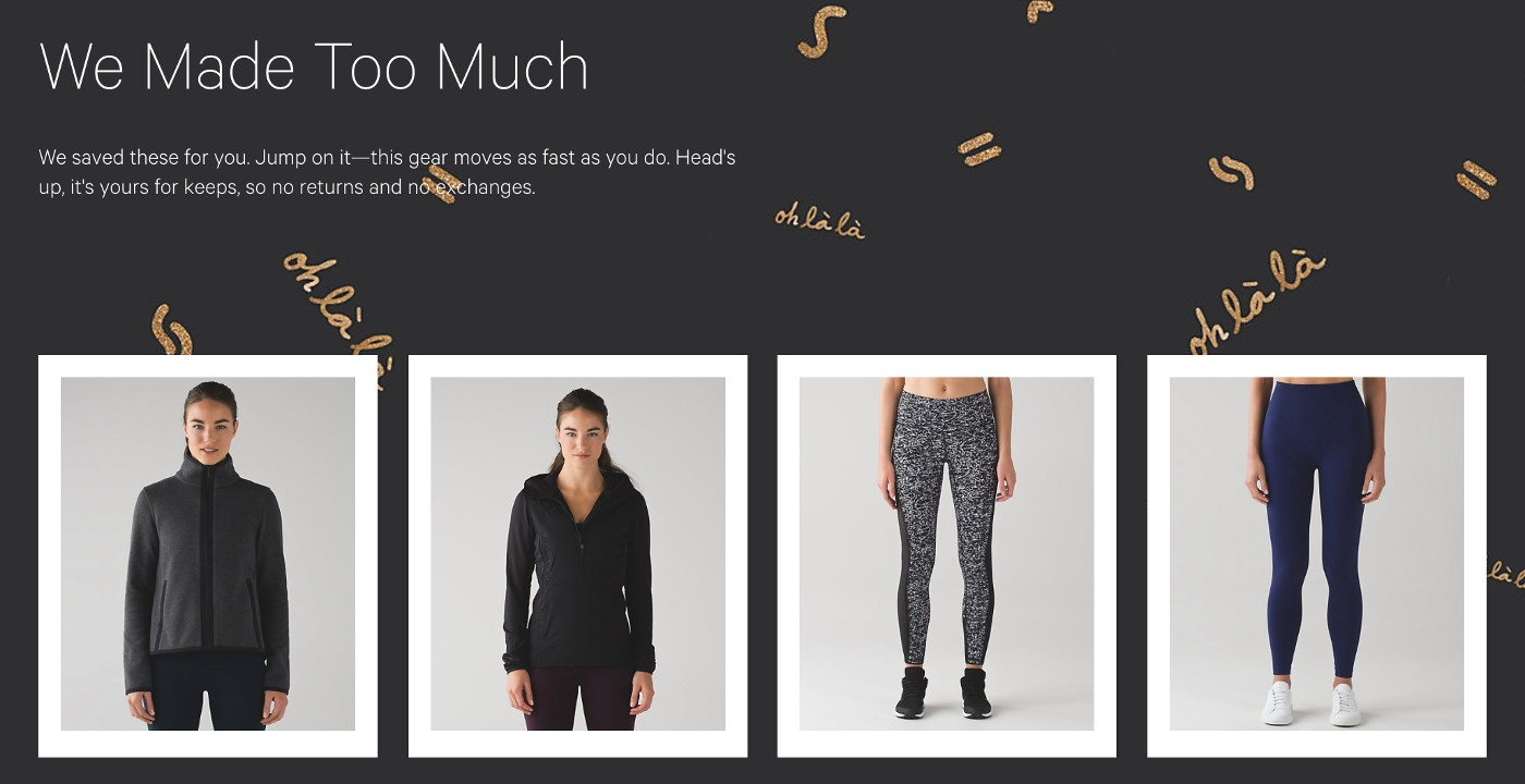 lululemon boxing week sale