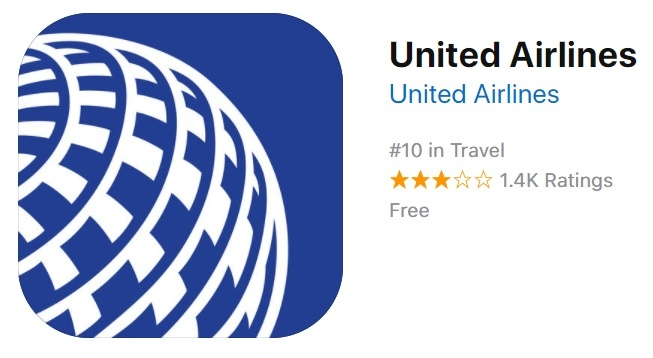 united airlines upp store